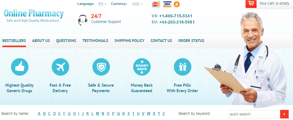 Online Pharmacy Without Scripts - Avoid Risks of Counterfeit Drugs and Illegal Activities