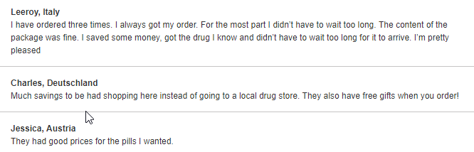 Canadian Pharmacy Reviews (source: http://good-pills