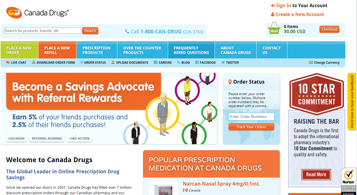Canada Drugs Review – A Pharmacy Website with Satisfied Customers