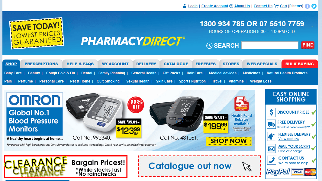 Pharmacies Direct – An Australian Online Pharmacy Store with Mixed Reviews