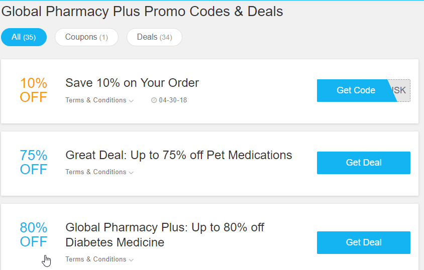Global Pharmacy Canada Coupon Codes