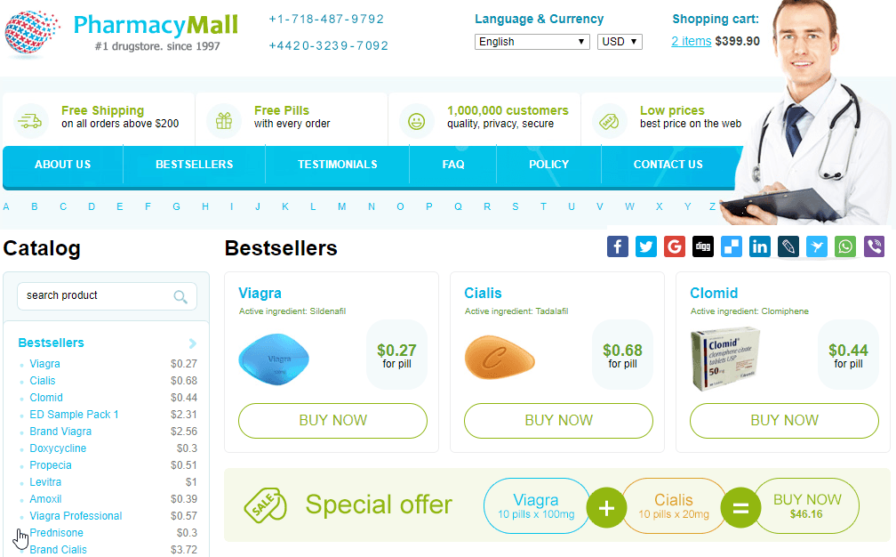 Pharmacy Mall Reviews: The Perfect Canadian Pharmacy to Buy Your Meds from