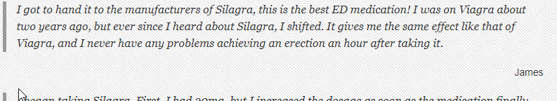 Silagra Review